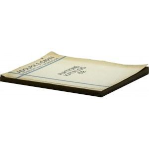 Adolph Cahn katalog aukcji 62, 1928, wraz z listą wynikową
