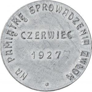 medal, Juliusz Słowacki, 1927
