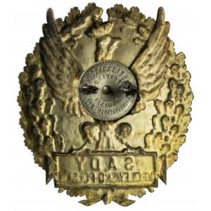 orzeł, SĄDY KRÓLEWSKO-POLSKIE, oryginalna emalia oraz nakrętka
