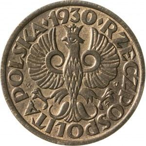 1 grosz, 1930, II RP, rzadki rocznik