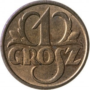 1 grosz, 1931, II RP