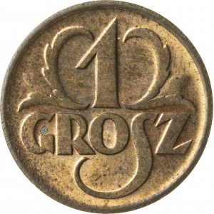 1 grosz, 1937, II RP