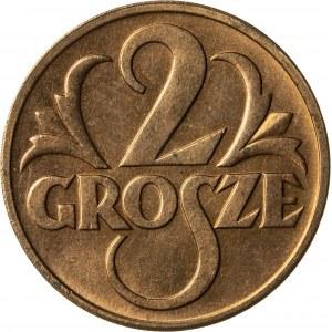 2 grosze, 1937, II RP