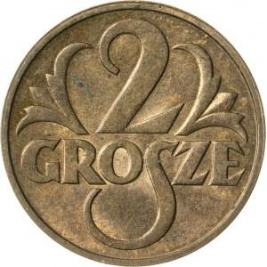 2 grosze, 1938, II RP