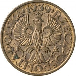 2 grosze, 1939, II RP