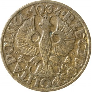 5 groszy, 1934, II RP, rzadki rocznik