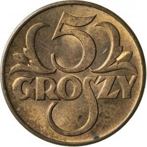 5 groszy, 1938, II RP