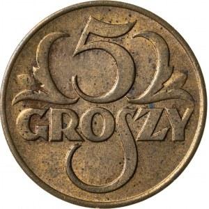 5 groszy, 1939, II RP