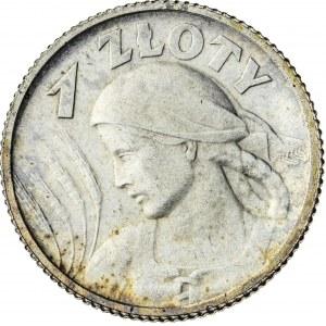 1 zł, 1924, II RP, kobieta z kłosami
