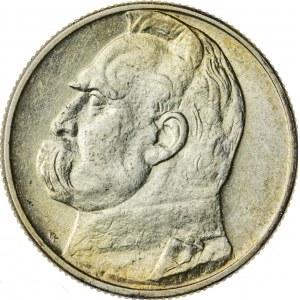 2 zł, 1934, II RP, Piłsudski