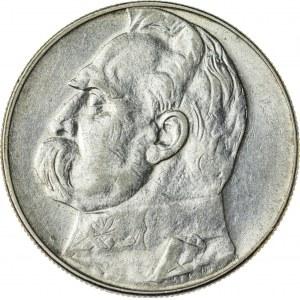 10 zł, 1934, II RP, Piłsudski