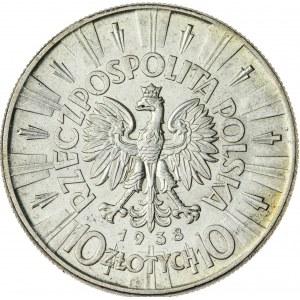 10 zł, 1938, II RP, Piłsudski