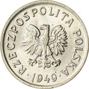 10 gr, 1949, Miedzionikiel, PRL