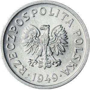 10 gr, 1949, Aluminium, PRL