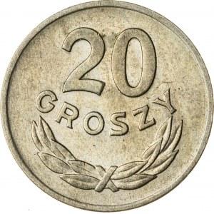 20 gr, 1949, Miedzionikiel, PRL