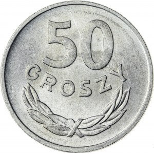 50 gr, 1957, Aluminium, PRL