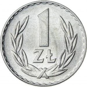 1 zł, 1949, Aluminium, PRL