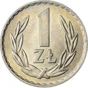 1 zł, 1949, Miedzionikiel, PRL
