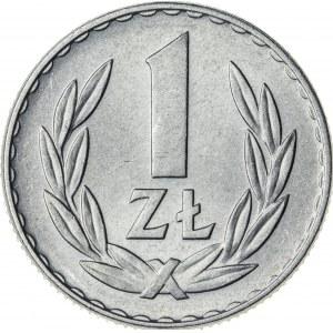 1 zł, 1957, Aluminium, PRL, rzadki rocznik