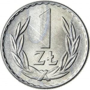 1 zł, 1965, Aluminium, PRL