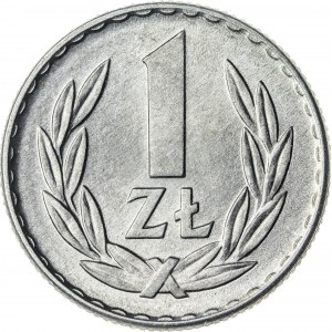 1 zł, 1966, Aluminium, PRL