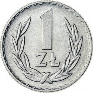 1 zł, 1967, Aluminium, PRL