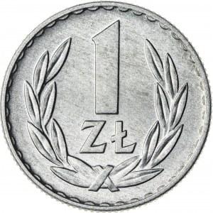 1 zł, 1968, Aluminium, PRL
