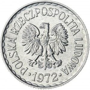 1 zł, 1972, Aluminium, PRL
