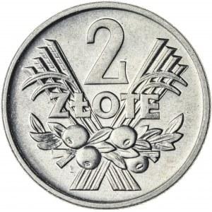2 zł, 1960, Aluminium, PRL, jagody