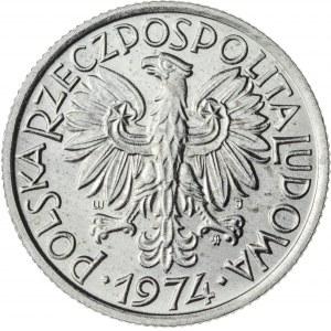 2 zł, 1974, Aluminium, PRL, jagody
