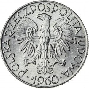 5 zł, 1960, Aluminium, PRL, rybak