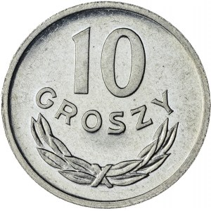 10 gr, 1970, Aluminium, PRL, PROOF LIKE