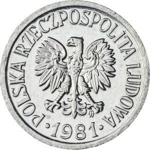 10 gr, 1981, Aluminium, PRL, PROOF LIKE