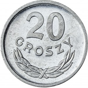 20 gr, 1971, Aluminium, PRL, PROOF LIKE