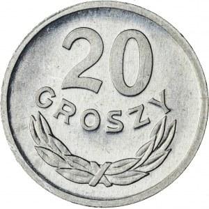 20 gr, 1972, Aluminium, PRL, PROOF LIKE