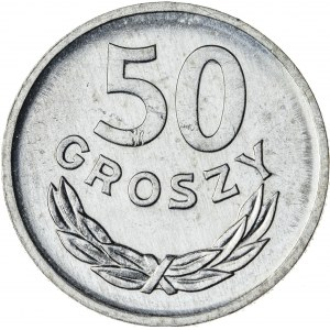 50 gr, 1970, Aluminium, PRL, PROOF LIKE po stronie orła