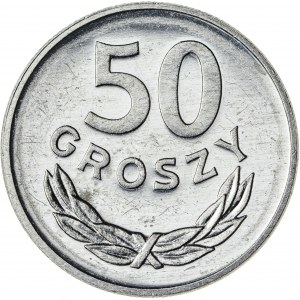 50 gr, 1983, Aluminium, PRL, PROOF LIKE