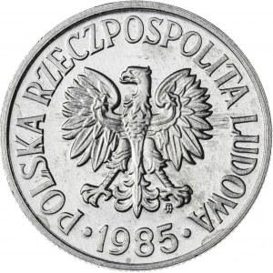 50 gr, 1985, Aluminium, PRL, PROOF LIKE