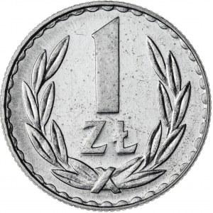 1 zł, 1981, Aluminium, PRL, PROOF LIKE