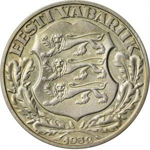 2 krooni, 1932, Estonia