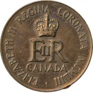 medal koronacyjny, Kanada, 1953