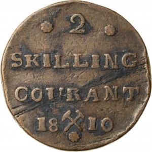 2 skilling, 1810, Norwegia