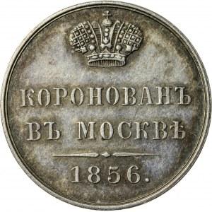 żeton koronacyjny, 1856, Rosja