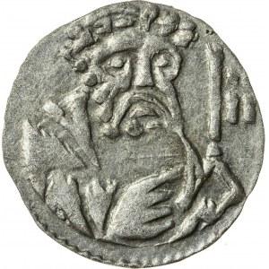 halerz, Ludwik II Brzeski 1413-1436 lub Elżbieta Brandenburska 1436-1449, Legnica
