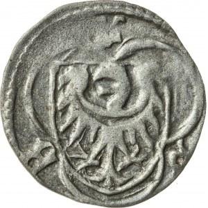halerz, ok. 1430, Ludwik II Brzeski 1399-1436, Brzeg