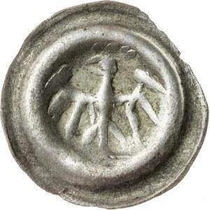 brakteat, Bolesław IV 1400-1437 lub Jan II 1437-1439 lub Mikołaj I 1439-1476, Opole