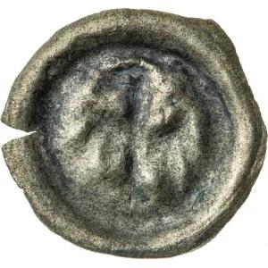 brakteat, Bolesław IV 1400-1437 lub Jan II 1437-1439 lub Mikołaj I 1439-1476, Opole, R4