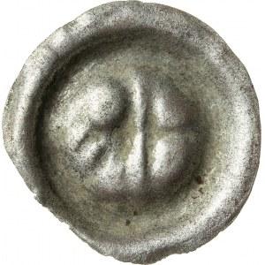 brakteat, Bernard ok. 1400-1455 lub Mikołaj I 1439-1476, Opole, R3
