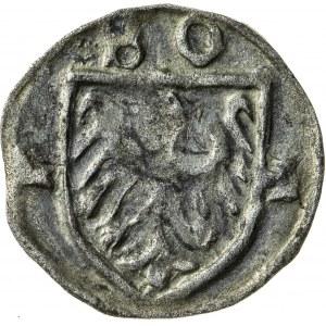 halerz, ok. 1430, Bolesław I (1410-1431), Cieszyn, R5