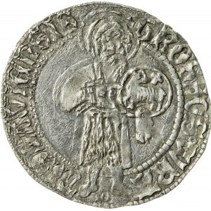 grosz, Maciej I Korwin 1469- 1490, Księstwo Wrocławskie